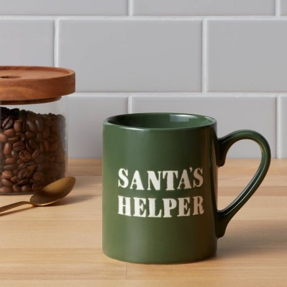 Santa's Helper Christmas Mugs Threshold